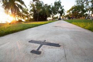 Ross Smith Memorial, Darwin. CLOUSTON